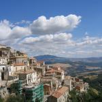 Foto San Fele - Veduta verso Monte Vulture